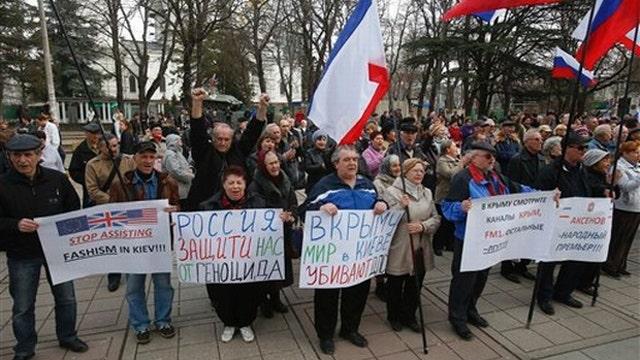 Crimean voters overwhelmingly back secession referendum