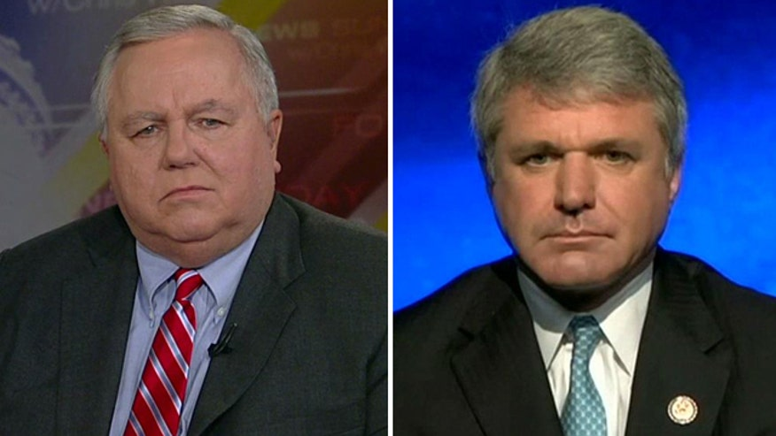 Rep. Michael McCaul and Peter Goelz, former managing director of the NTSB, weigh in on search for missing jetliner