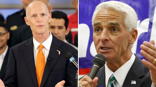 The Race in 90 seconds: Florida Governor - Scott vs. Crist