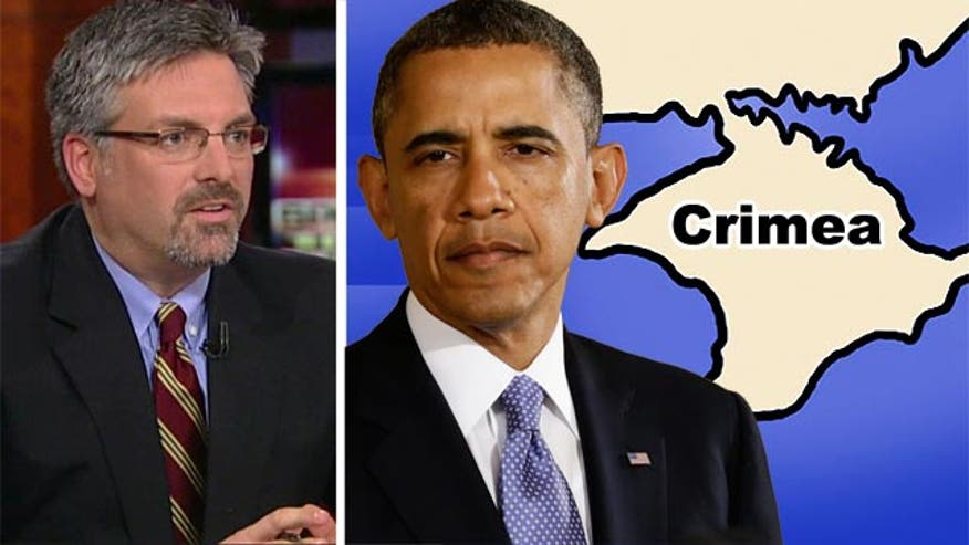 "Hayes: Obama handling of Crimea ""unserious on so many levels"""