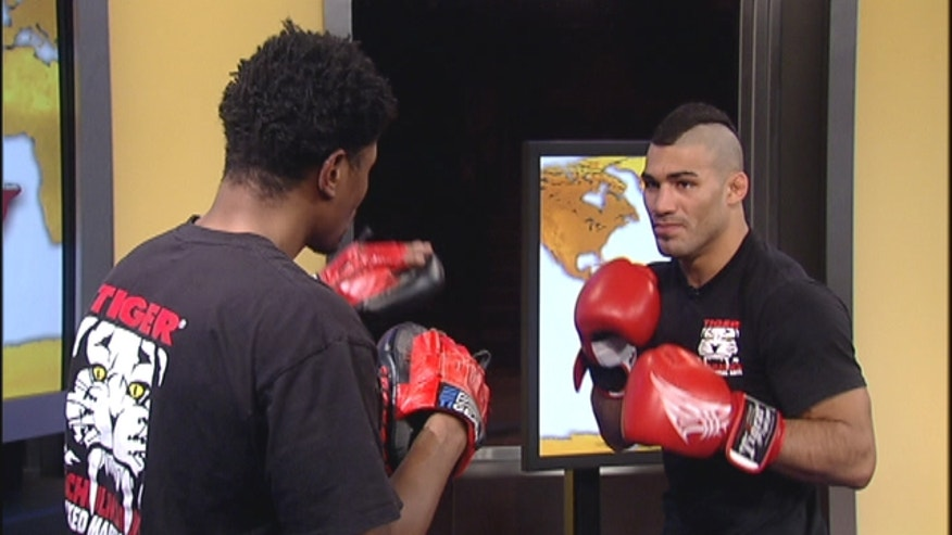 MMA fighter Lyman Good gives instructional pointers for your health and self defense.