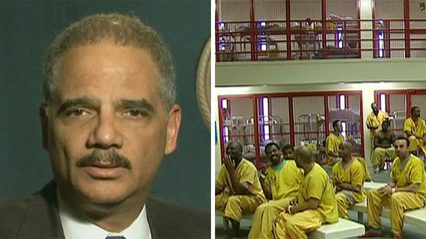 Eric Holder moves to shorten sentences in federal drug cases