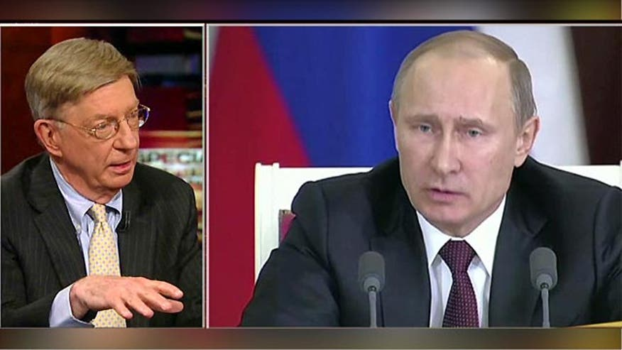 on Special Report Friday Syndicated columnist George Will said Friday that Russian President Vladimir Putin's ultimate goal is to break up NATO.