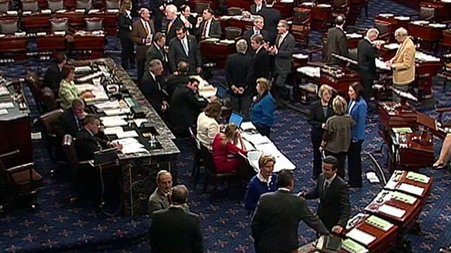 Senate approves Democratic budget after marathon 'vote-a-rama'