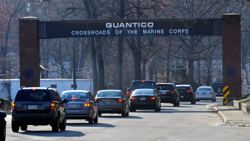 Authorities investigate shooting at Quantico Marine base in Virginia