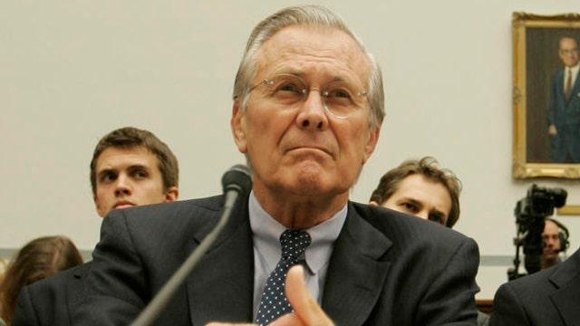 Rumsfeld's take: Karzai snubs West, backs Putin's power grab