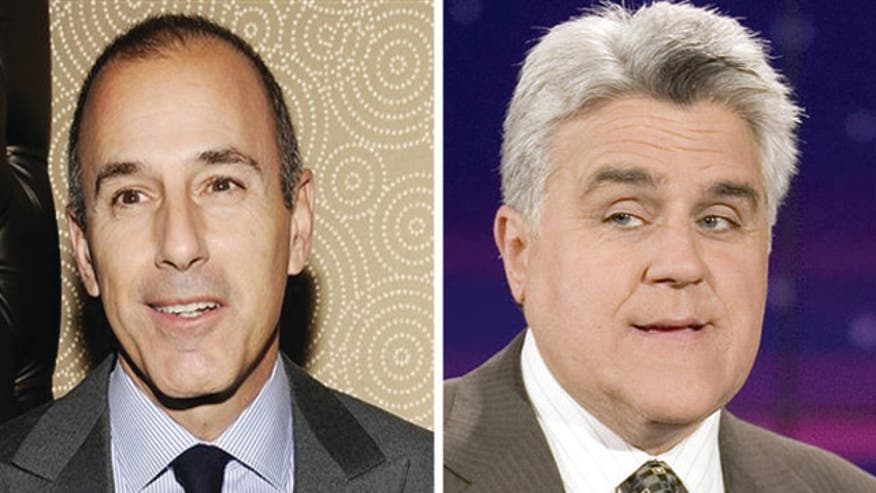 Bernie Goldberg on hard times for Jay Leno and Matt Lauer