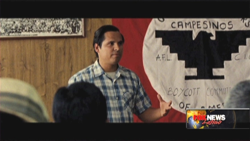 Diego Luna, Michael Peña and America Ferrera discuss the legacy of Cesar Chavez and what their new biopic means to the struggle.