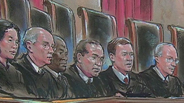 Justices indicate interest in narrow ruling on gay marriage in landmark hearing
