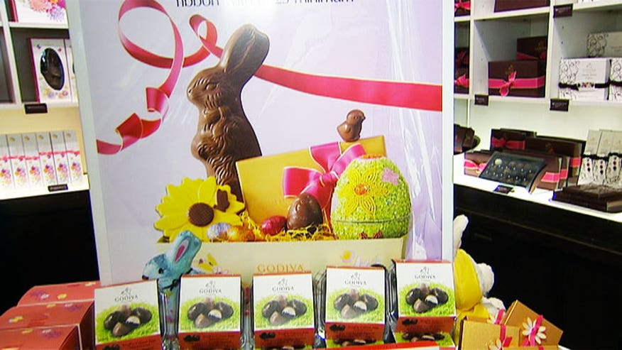 Tuttie Dedvukaj shows us how to assemble a perfect Easter basket.