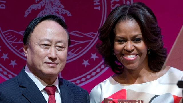 Why no press on Michelle Obama's trip?