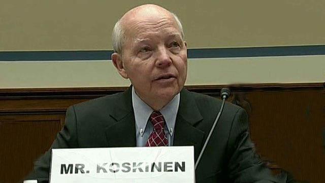 IRS chief takes heat on Capitol Hill