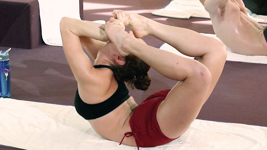 Bikram Yoga instructor Donna Rubin demonstrates six amazing poses. Can you take the heat?