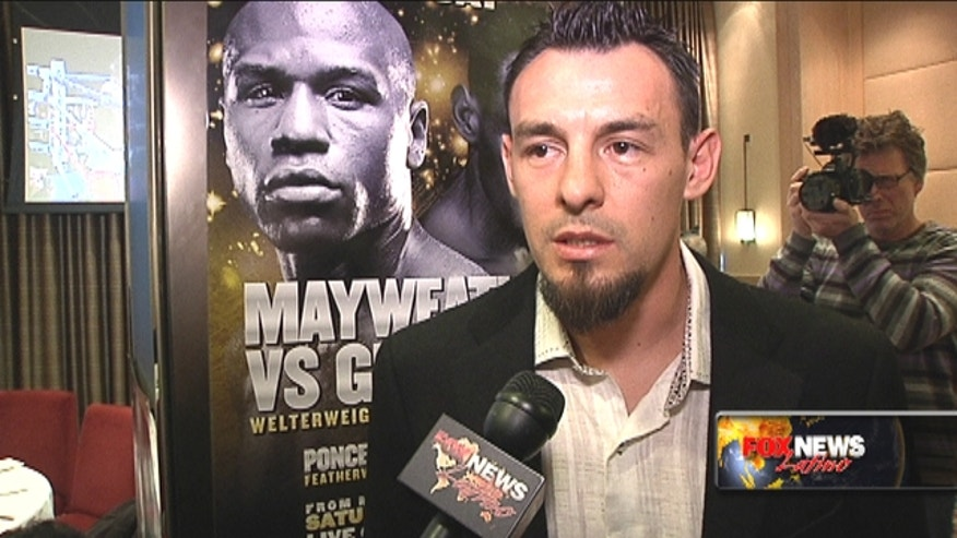 Robert Guerrero talks about his upcoming fight with Floyd Mayweather Jr..