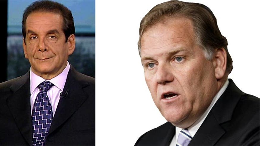 "Krauthammer: Rogers jump to radio ""an odd and puzzling move"""