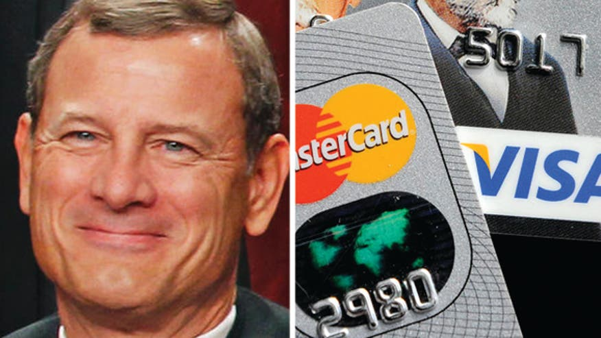 Chief Justice John Roberts pays in cash