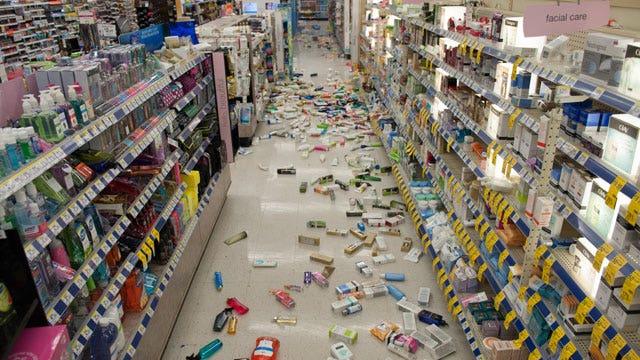 California earthquakes a precursor to something bigger?