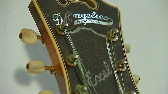 More than 200 of world's rarest guitars up for sale