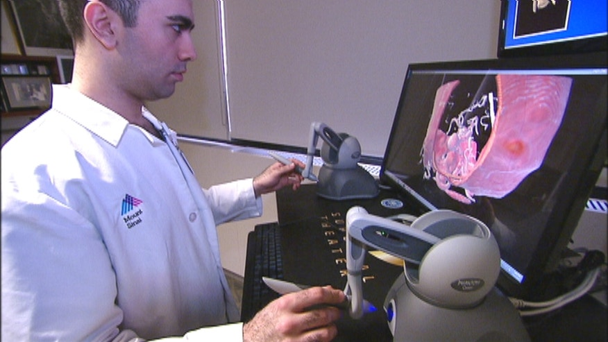 New technology combines the science of flight simulation with advanced medical imaging, giving surgeons a chance to perform complex procedures on virtual patients before the operating room
