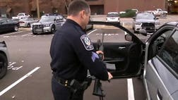 After a series of mass shootings involving high-powered rifles across the country, police officers in Nashville's Metro Police Department are the latest to upgrade their firepower.