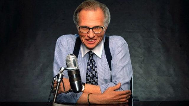 Larry King on David Letterman, Piers Morgan
