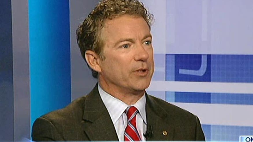 "Sen. Rand Paul sounds off on anticipated ""sticker shock"" resulting from a lack of young people enrolled in Obamacare."