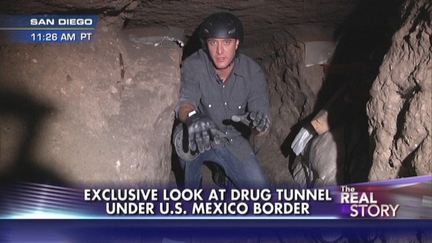 Fox's Will Carr gets an exclusive look inside the most sophisticated tunnel that stretches from Tijuana to an industrial park in San Diego. The tunnel is more than 700 yards long and includes lighting, ventilation and an electric rail system.