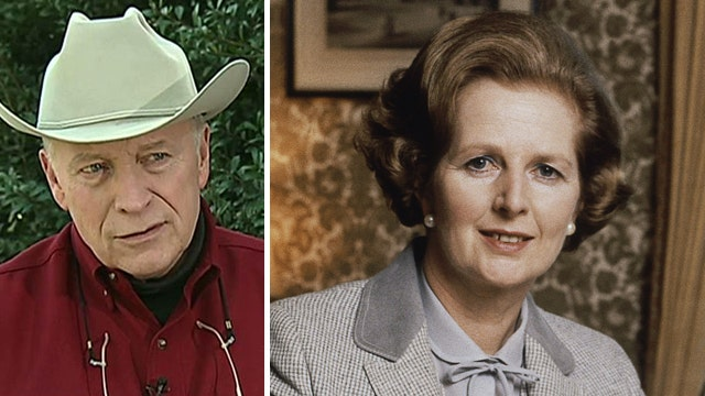 Dick Cheney remembers 'rock star' Margaret Thatcher