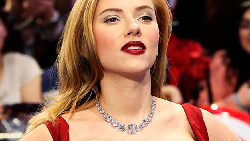 What 'violent' name puts the pout in Johansson's pucker?
