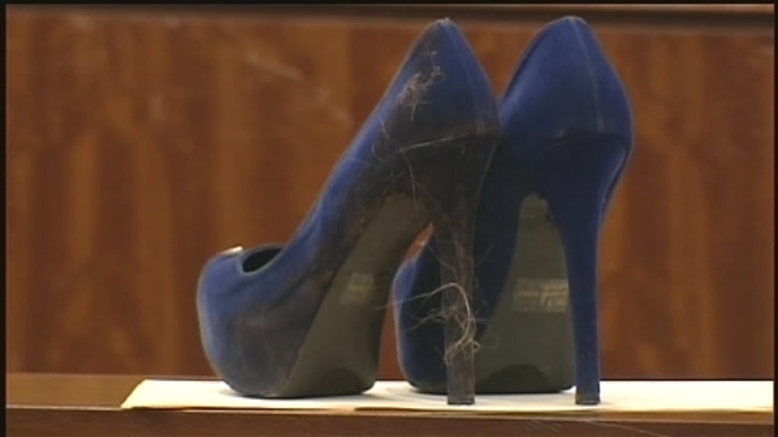 Woman found guilty of fatally stabbing her boyfriend with stiletto heel.