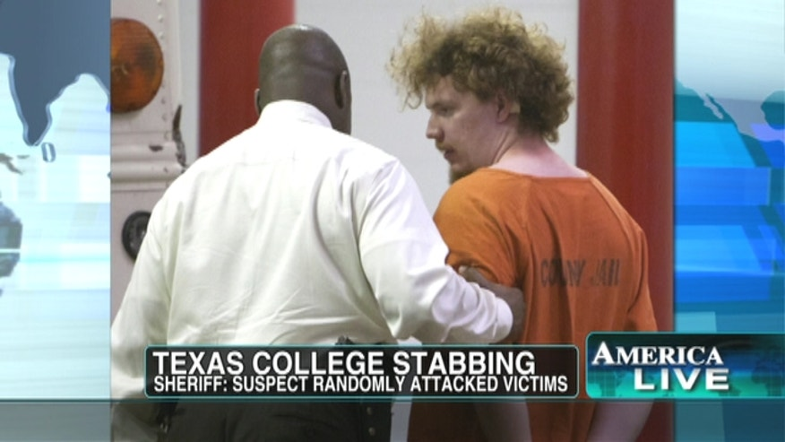 Many describe the 20-year-old deaf student accused of going on a slashing rampage at a Texas college as normal.