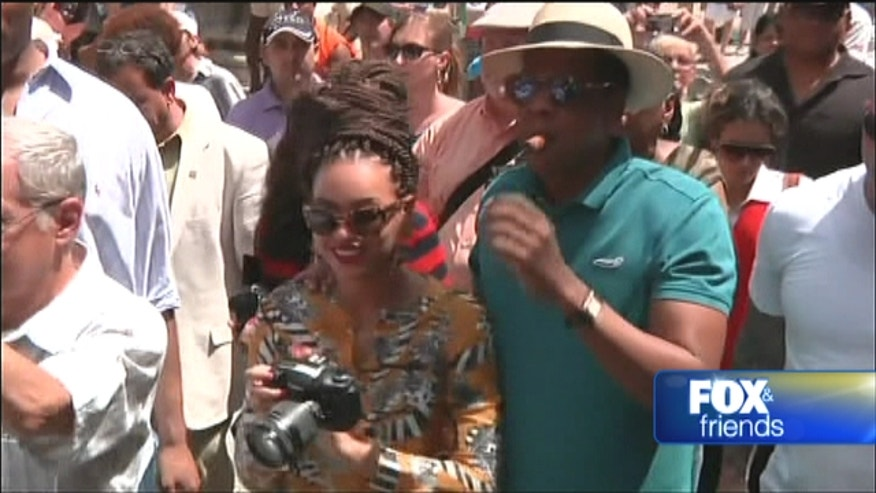 Lawmakers question Beyonce and Jay-Z's Cuban vacation.