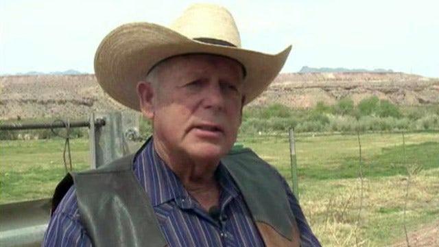 Rancher battling federal gov't over cattle on public land