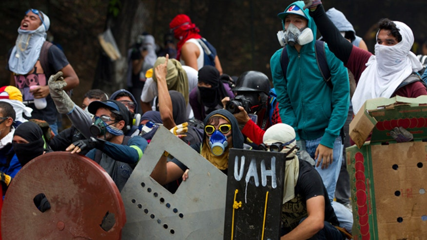 Vision Americas' Jose Cardenas explains the reasons for opposition protests