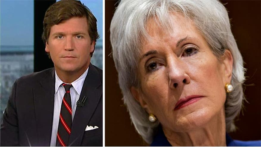 "Tucker Carlson: Sebelius ""certainly a casualty"" of Obamacare"