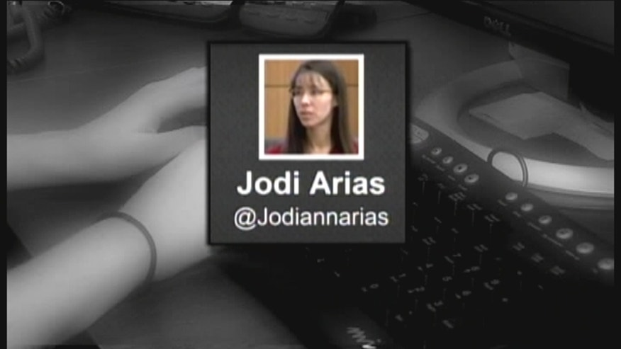 Jodi Arias is at the center of one of the highest profile murder trials the valley has ever seen. And now she's tweeting from behind bars.