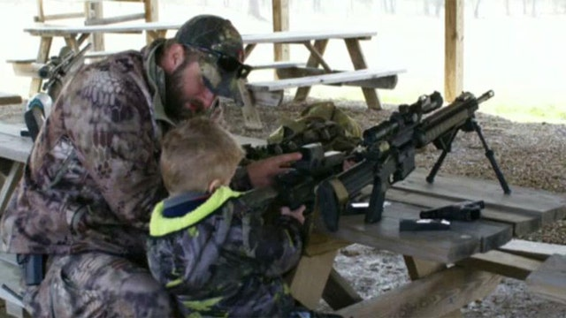 6-year-old is a Navy SEAL for a day