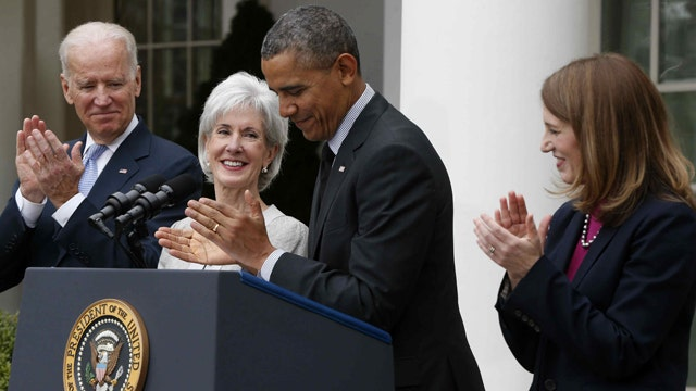 The face of the ObamaCare debacle calls it quits