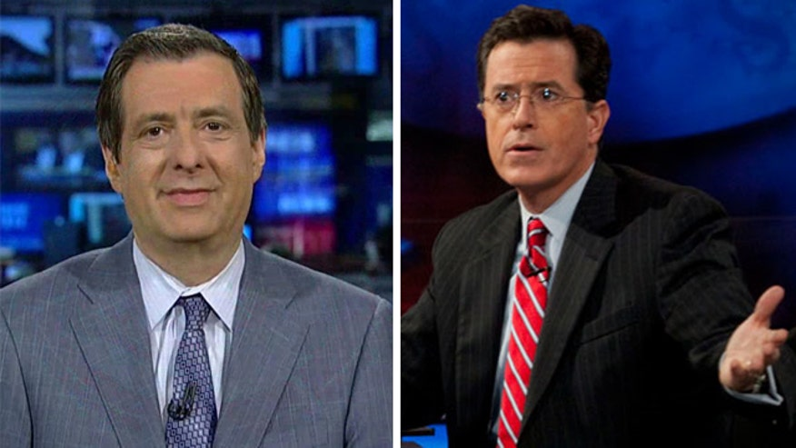 Will Colbert be himself on 'Late Show'?