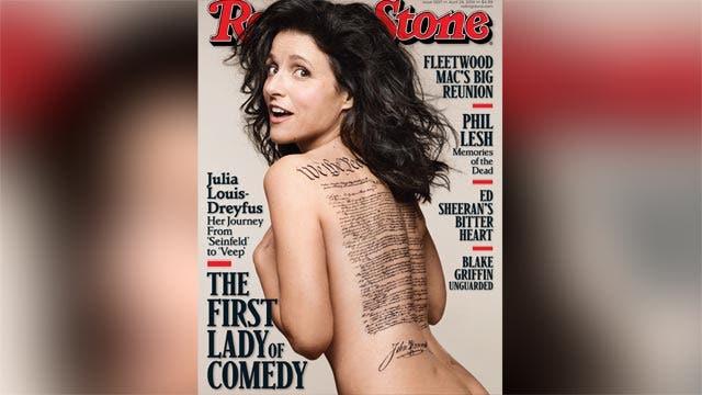 Is Julia Louis-Dreyfus cover sexist?