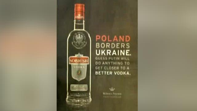 Grapevine: Vodka brand makes light of Ukraine crisis in ad