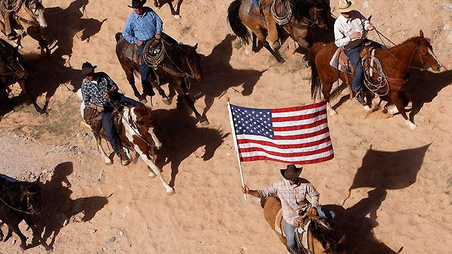 Showdown between Nevada rancher and federal gov't heats up