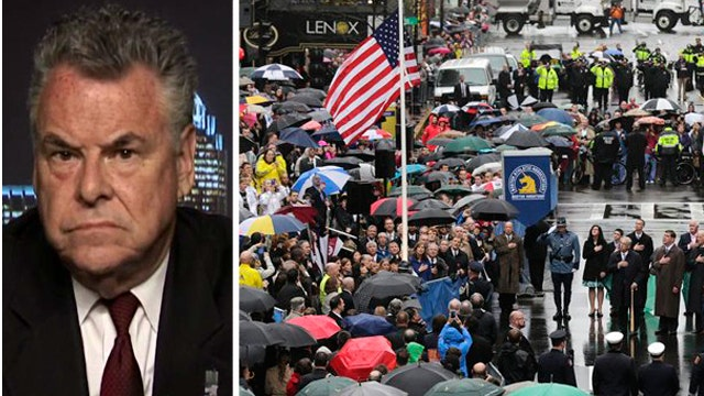 Rep. Peter King reflects on Boston bombing one year later