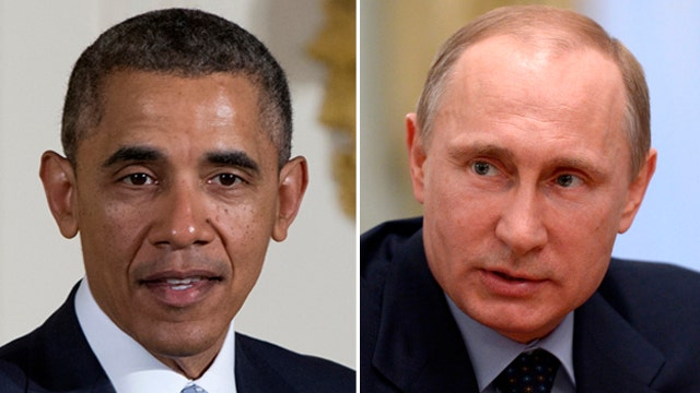 Obama speaks with Putin as tensions in eastern Ukraine rise