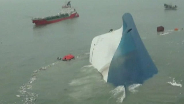 Search for survivors of Korean ferry accident continues