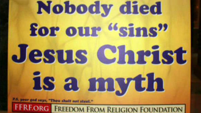 Fight for Faith: Anti-Easter display goes up in Wisconsin