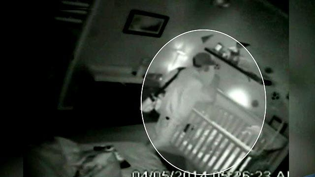 Home burglar video a nightmare for sleeping parents