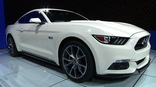 50th Anniversary Ford Mustang Ready to Party