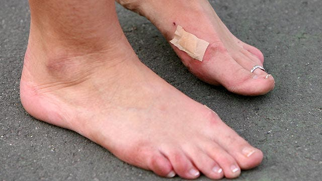 Are you taking proper care of your feet?