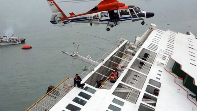 Nearly 300 still missing after Korean ferry accident